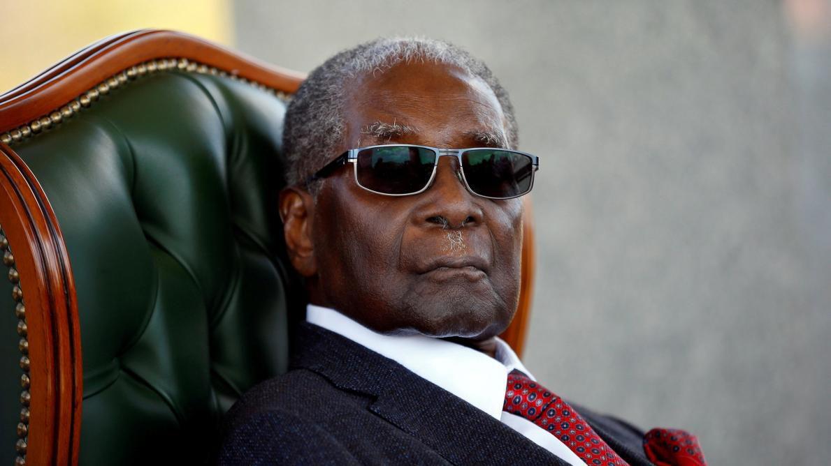 L'hommage de Laurent Gbagbo à Robert Mugabé: