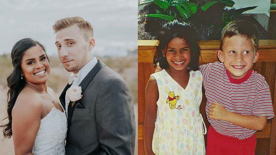 Etats-Unis : Enfant, il jure de l'épouser puis le fait 20 ans plus tard