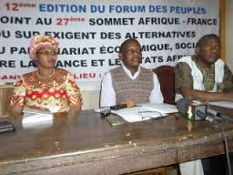 Françafrique: Déclaration du sommet des Peuples à l'occasion du sommet Afrique-France