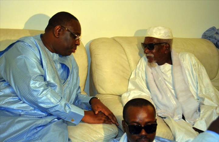 SENEGAL: MACKY SALL AU KHALIFE GENERAL DES MOURIDES: