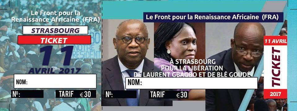 FRANCE: SIT-IN DU FRA A STRASBOURG LE 11 AVRIL 2017