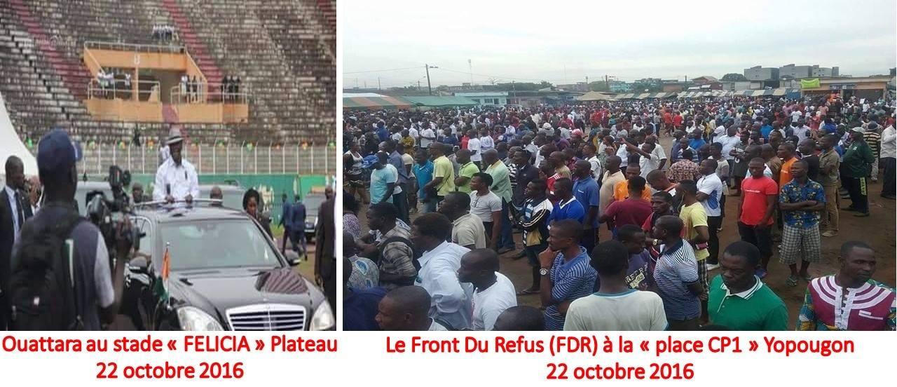 COTE D'IVOIRE: Le Front du Refus (FDR) démontre le