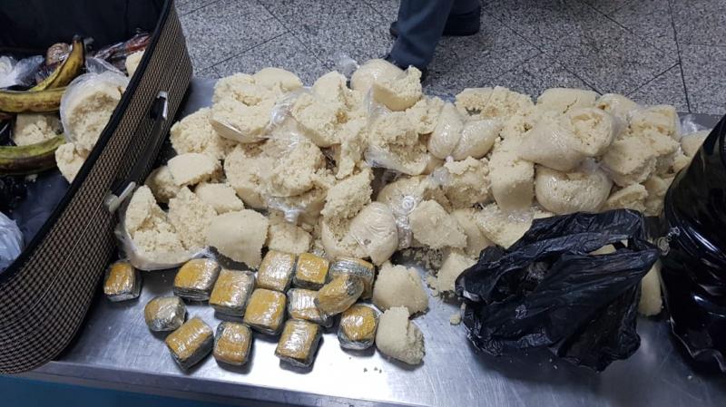 Aéroport de Tunis Carthage: Mise en échec d´une opération de contrebande de drogue