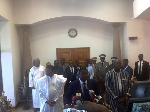 Burkina Faso: ATTAQUES TERRORISTES DU 02 MARS 2018;  La CEDEAO et le G5-Sahel au chevet du Burkina