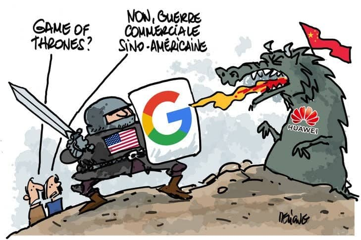 Le conflit entre les États-Unis et la Chine s'invite dans les smartphones