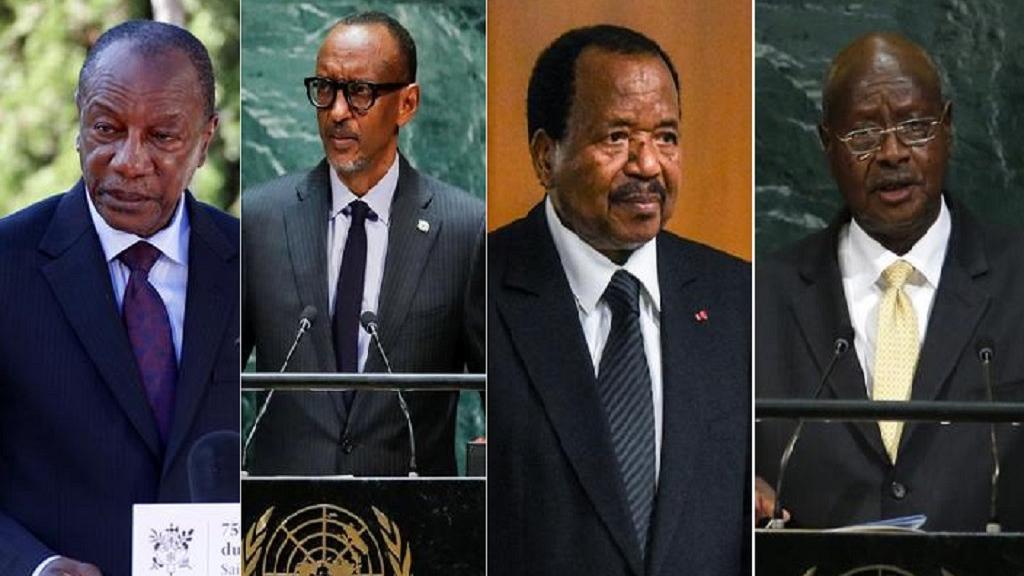 Limitation du mandat présidentiel: ces dirigeants africains qui résistent au pouvoir