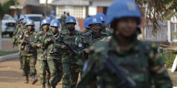 Centrafrique : un Casque bleu marocain tué dans une embuscade à Bangassou